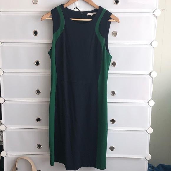 41 Hawthorn Dresses & Skirts - Sleeveless business two-tone dress